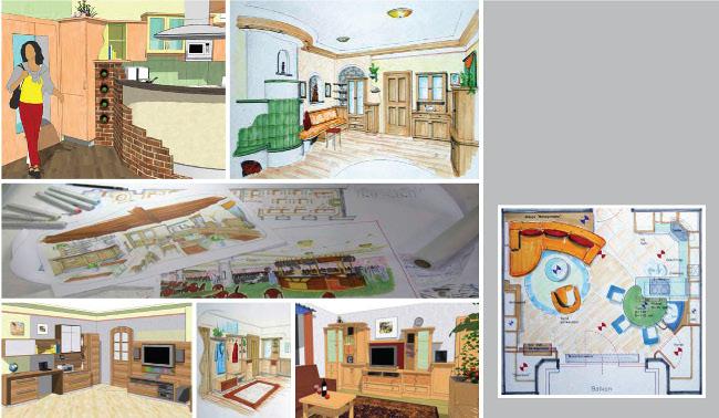 Innenarchitektur f r den gesamten wohnbereich august p chacker idee design planungsb ro - Innenarchitektur bildergalerie ...